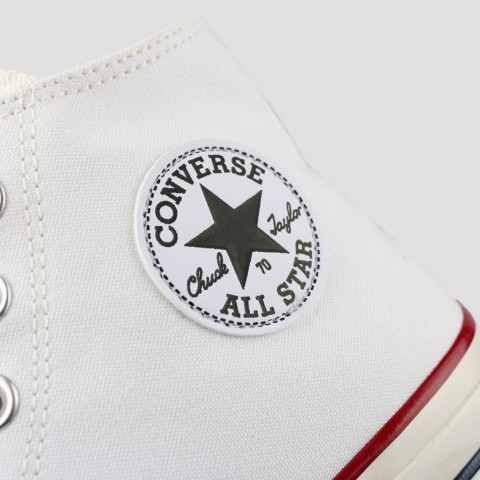 Tênis Converse Chuck 70 Hi - Branco/ Amendoa