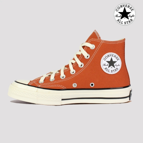 Tênis Converse Chuck 70 Hi - Marrom Telha