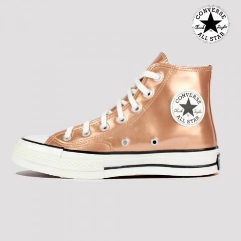 Tênis Converse Chuck 70 Hi - Ouro Escuro