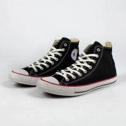 Tênis Converse CT All Star Core Ox Preto Listra Vermelha