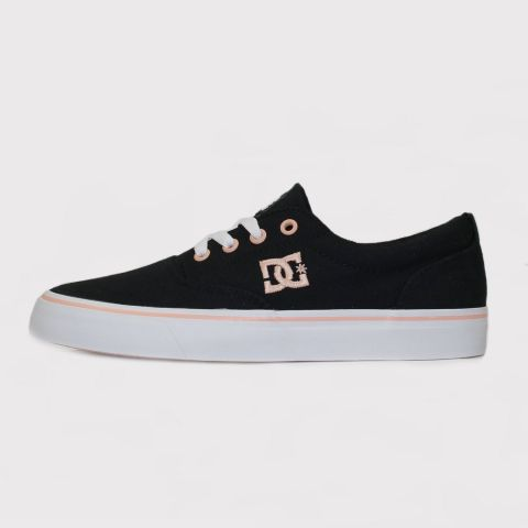 Tênis Dc Shoes New Flash 2 TX - Preto/Salmão