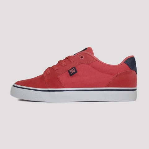 Tênis DC Shoes Anvil La - Coral/Marine