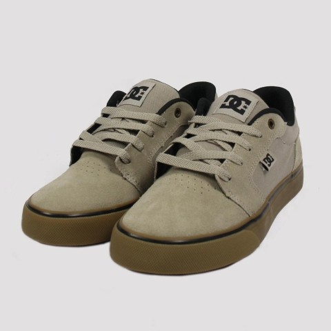 Tênis Dc Shoes Anvil La - Grey/Gum
