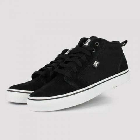 Tênis DC Shoes Anvil LA Mid - Preto/ Branco