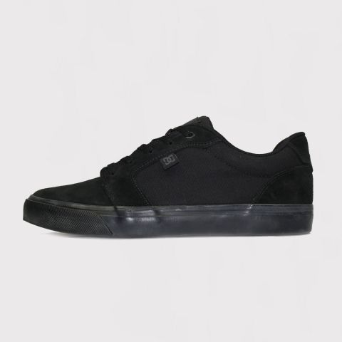 Tênis DC Shoes Anvil La - Preto