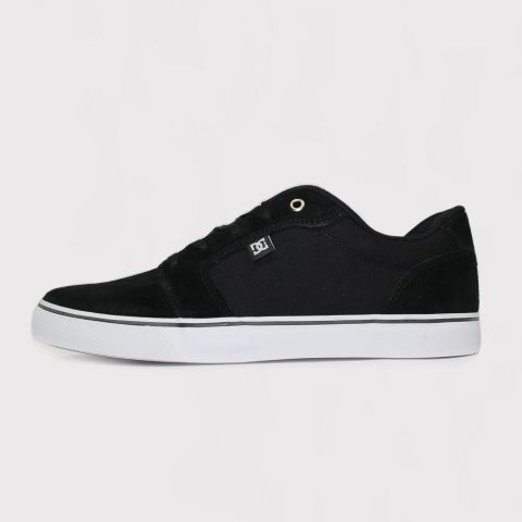 Tênis DC Shoes Anvil La - Preto/Branco