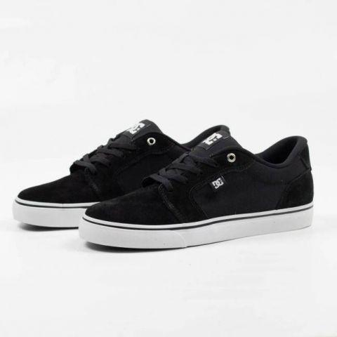 Tênis DC Shoes Anvil La - Preto/Branco
