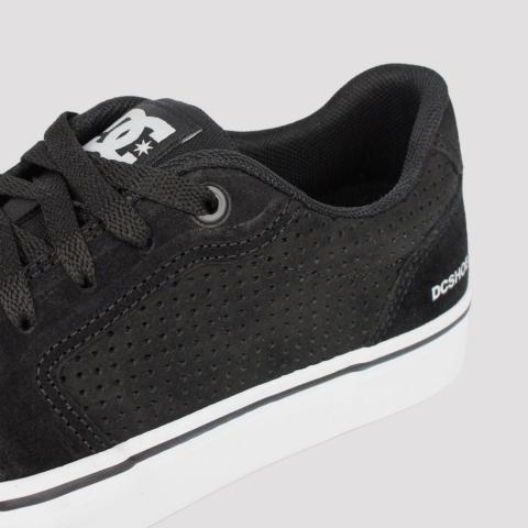 Tênis DC Shoes Anvil LA SE - Black/ White