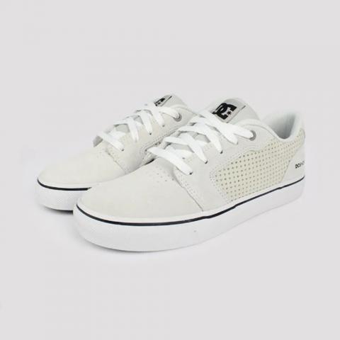Tênis DC Shoes Anvil LA SE - White/ Black