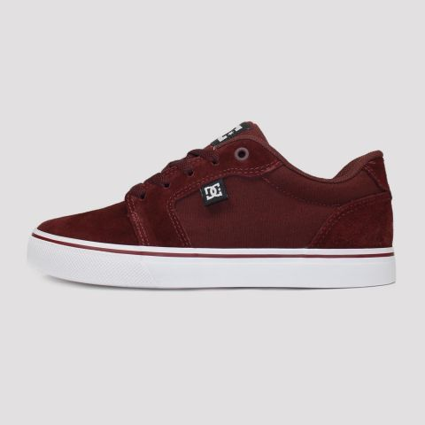 Tênis DC Shoes Anvil La - Vinho