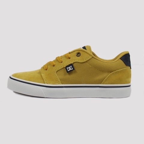 Tênis Dc Shoes Anvil La - Yellow/Marine/White