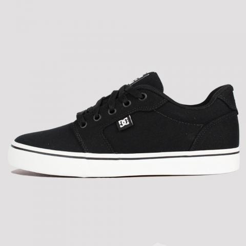Tênis DC Shoes Anvil TX LA - Black/ White