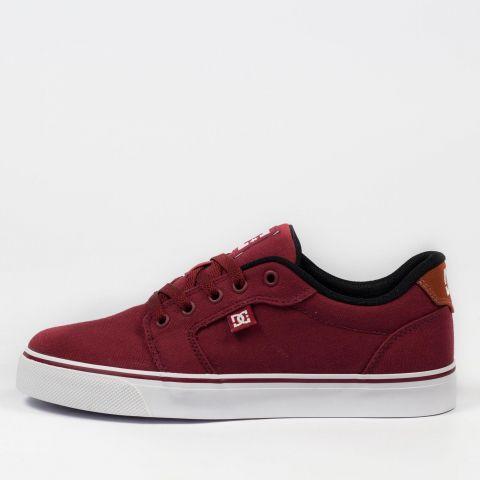 Tênis DC Shoes Anvil Tx LA Burgundy