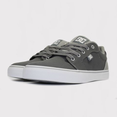 Tênis DC Shoes Anvil TX La - Light Grey/ Cinza Claro