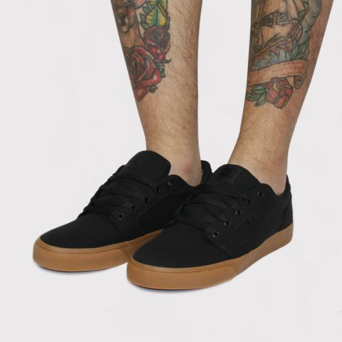 Tênis DC Shoes Anvil TX - Preto/Caramelo