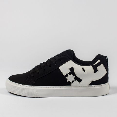 Tênis DC Shoes Court Graffik Preto/Branco