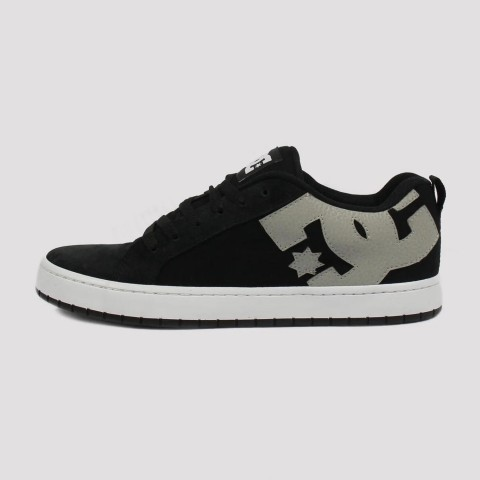 Tênis Dc Shoes Court Graffik - Preto/Branco