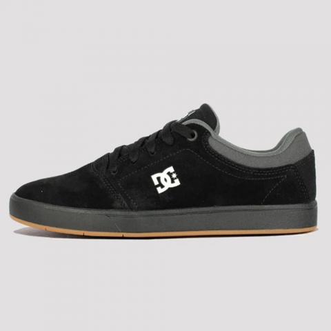 Tênis DC Shoes Crisis - Black/ Grey/ Black