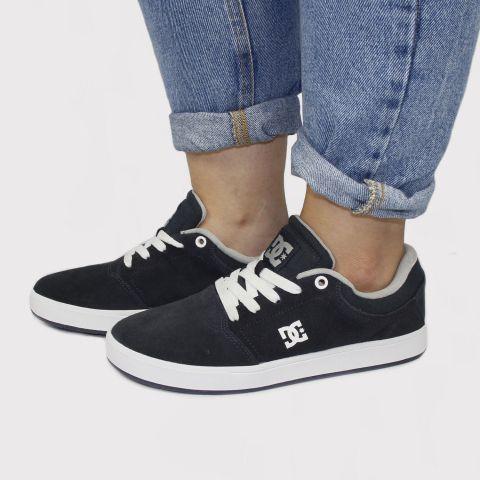 Tênis DC Shoes Crisis La - Azul Marinho/Cinza/Branco