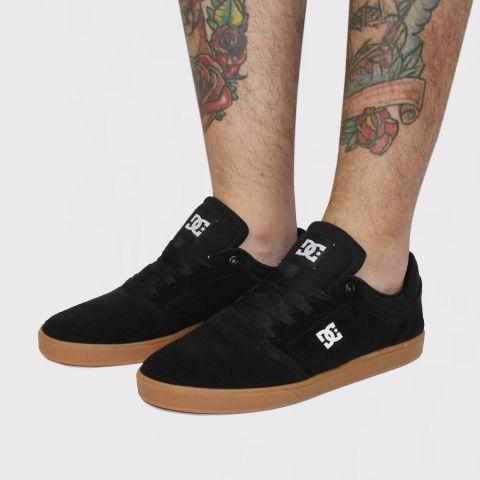 Tênis DC Shoes Crisis La - Preto/Branco/Caramelo