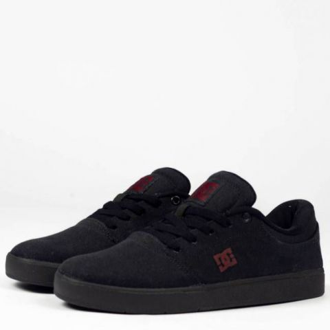 Tênis DC Shoes Crisis Tx La - Black/Dark Grey