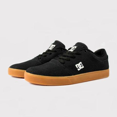 Tênis DC Shoes Crisis TX La - Preto/Caramelo