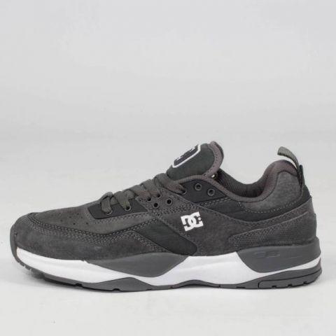 Tênis DC Shoes E. Tribeka Cinza Escuro Pewter
