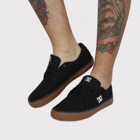 Tênis DC Shoes Episo - Preto/Gum