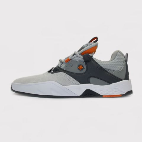 Tênis Dc Shoes Kalis - Grey/Cinza/Orange/Laranja