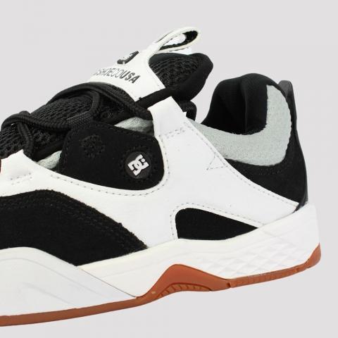 Tênis Dc Shoes Kalis Imp - Black/ Grey/ White
