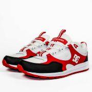 Tênis DC Shoes Kalis Lite Branco/Vermelho