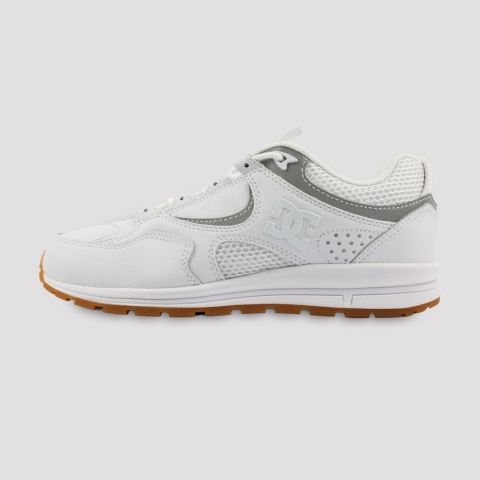 Tênis DC Shoes Kalis Lite - White Silver