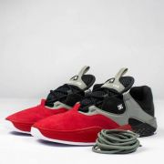 Tênis DC Shoes Kalis S Vermelho/Preto/Cinza