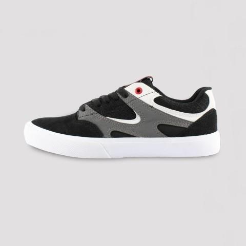 Tênis DC Shoes Kalis Vulc - Preto/ Cinza