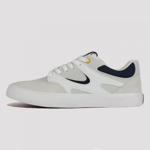 Tênis DC Shoes Kalis Vulcan SE - White/ Blue
