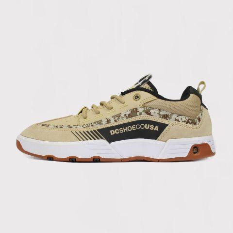Tênis DC Shoes Legacy 98 Slim S Carlos Iqui Tan - Camuflado