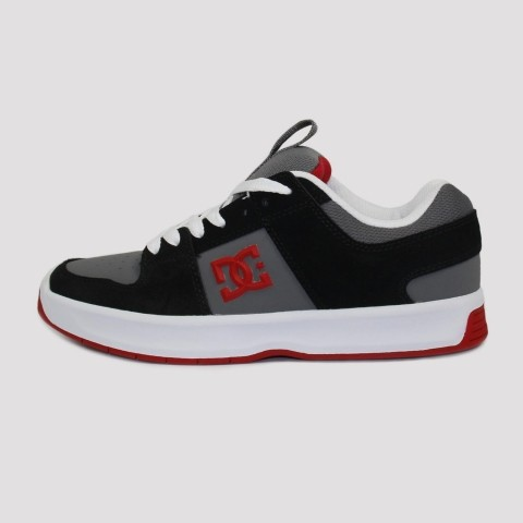Tênis DC Shoes Lynx Zero - Black/Grey/Red