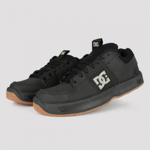 Tênis DC Shoes Lynx Zero - Black/ Grey/ Gum