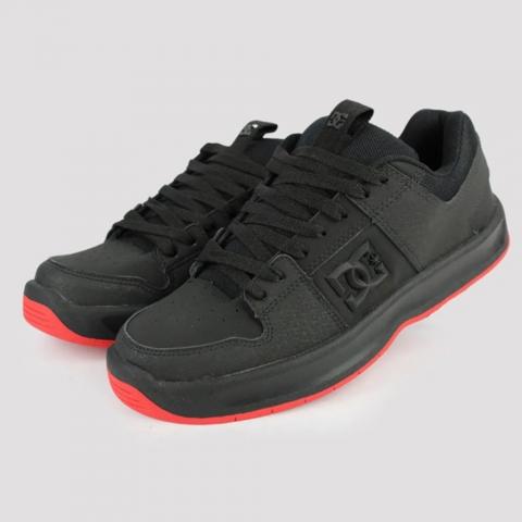 Tênis DC Shoes Lynx Zero - Black/ Red