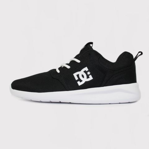 Tênis DC Shoes Midway - Preto/Branco