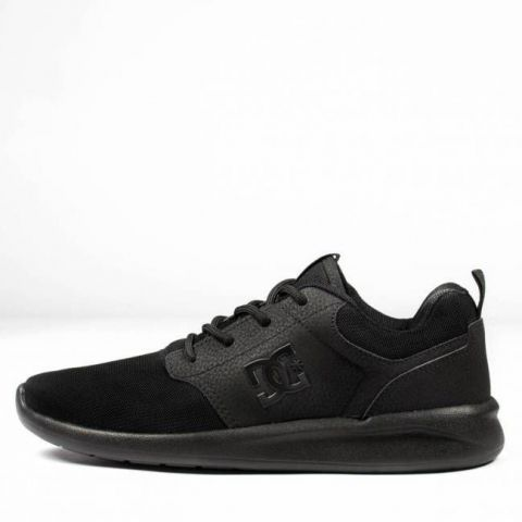 Tênis DC Shoes Midway SN - Preto/Black Total