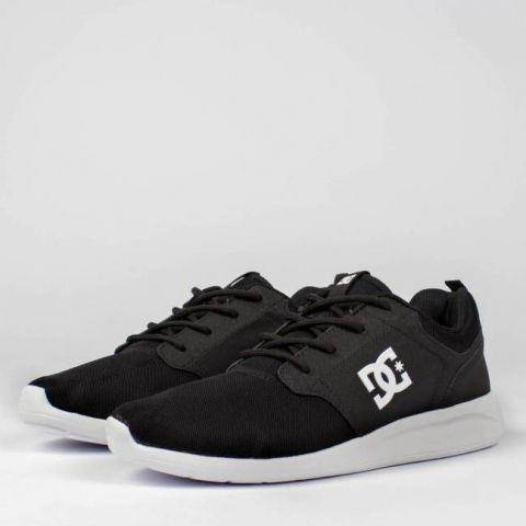 Tênis DC Shoes Midway SN - Preto/Branco