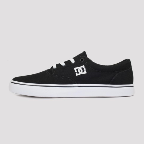 Tênis DC Shoes New Flash 2 TX - Black/White