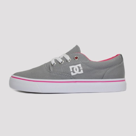 Tênis Dc Shoes New Flash 2 TX - Light Grey