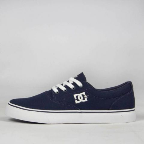 Tênis DC Shoes New Flash 2 TX - Navy/White