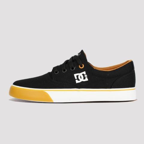 Tênis DC Shoes New Flash 2TX - Black Camel