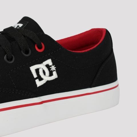 Tênis DC Shoes New Flash 2TX -Black/ Red