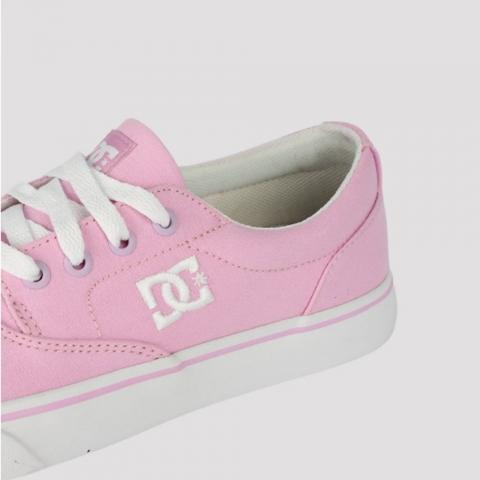 Tênis DC Shoes New Flash 2TX - Rosa