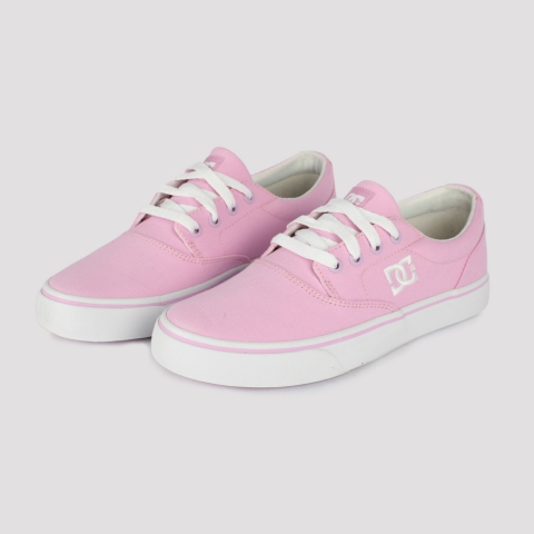 Tênis DC Shoes New Flash 2TX - Rosa