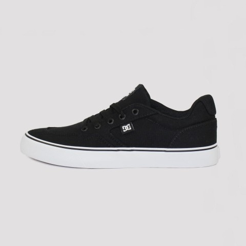 Tênis DC Shoes Rowlan TX - Black White